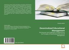 Copertina di Decentralized Educational Management