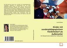 Bookcover of Kinder mit sonderpädagogischem Förderbedarf als Außenseiter