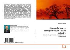 Bookcover of Human Resource Management in Textile Industry