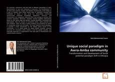 Обложка Unique social paradigm in Awra-Amba community