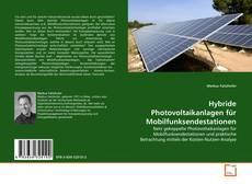 Bookcover of Hybride Photovoltaikanlagen für Mobilfunksendestationen