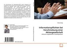 Buchcover von Informationspflichten bei Verschmelzung einer Aktiengesellschaft