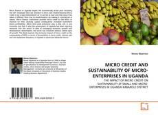 MICRO CREDIT AND SUSTAINABILITY OF MICRO-ENTERPRISES IN UGANDA kitap kapağı