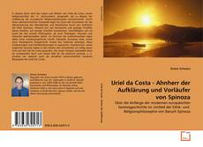 Bookcover of Uriel da Costa - Ahnherr der Aufklärung und Vorläufer von Spinoza