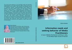 Borítókép a  Information needs and seeking behavior of Media Practitioners - hoz