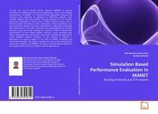 Portada del libro de Simulation Based Performance Evaluation in MANET