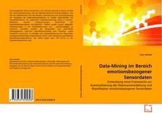 Capa do livro de Data-Mining im Bereich emotionsbezogener Sensordaten
