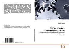 Buchcover von Einführung von Prozessmanagement