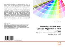 Capa do livro de Memory-Efficient Anti-Collision Algorithm in RFID system