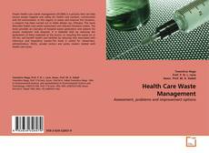 Bookcover of Health Care Waste Management