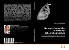 Capa do livro de Neuropsychologische Aspekte der Nikotinabhängigkeit