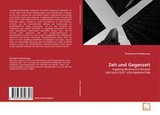 Portada del libro de Zeit und Gegenzeit