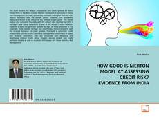 Copertina di HOW GOOD IS MERTON MODEL AT ASSESSING CREDIT RISK? EVIDENCE FROM INDIA