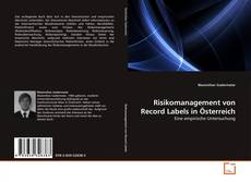 Couverture de Risikomanagement von Record Labels in Österreich