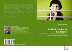 Portada del libro de Soziale Kontakte im Kindesalter