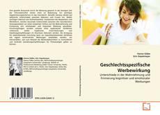 Capa do livro de Geschlechtsspezifische Werbewirkung