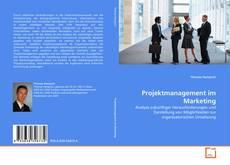 Buchcover von Projektmanagement im Marketing