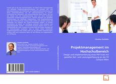 Copertina di Projektmanagement im Hochschulbereich