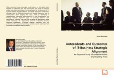 Capa do livro de Antecedents and Outcomes of IT-Business Strategic Alignment