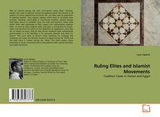 Ruling Elites and Islamist Movements的封面