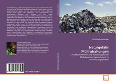 Bookcover of Naturgefahr Müllrutschungen