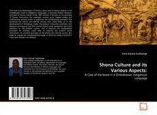 Borítókép a  Shona Culture and its Various Aspects: - hoz
