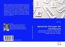 Buchcover von Aphasische Störungen der Schriftsprache