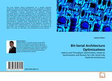 Bit-Serial Architecture Optimizations kitap kapağı
