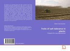 Traits of salt tolerance in plants: kitap kapağı