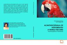 Couverture de ACANTHOCEPHALA OF VERTEBRATES A WORLD RECORD