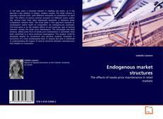 Buchcover von Endogenous market structures