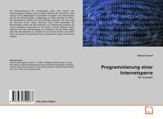 Bookcover of Programmierung einer Internetsperre