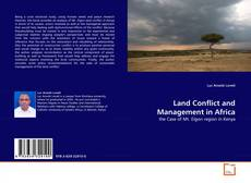 Land Conflict and Management in Africa的封面