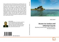 Bookcover of Access to Justice and Informal Courts