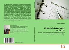 Couverture de Financial Governance in NGO's