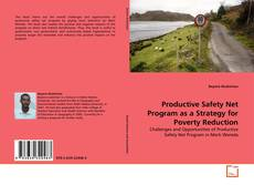 Capa do livro de Productive Safety Net Program as a Strategy for Poverty Reduction