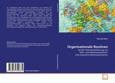 Capa do livro de Organisationale Routinen