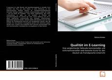Bookcover of Qualität im E-Learning