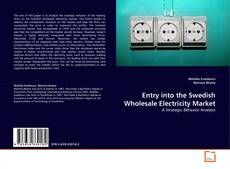 Couverture de Entry into the Swedish Wholesale Electricity Market