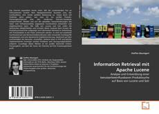 Bookcover of Information Retrieval mit Apache Lucene