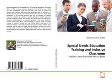 Copertina di Special Needs Education Training and Inclusive Classroom