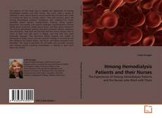 Bookcover of Hmong Hemodialysis Patients and their Nurses