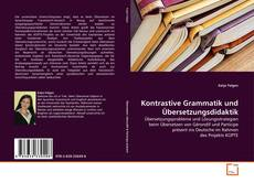 Bookcover of Kontrastive Grammatik und Übersetzungsdidaktik