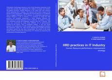 Capa do livro de HRD practices in IT Industry