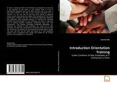Bookcover of Introduction Orientation Training