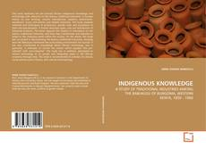 Couverture de INDIGENOUS KNOWLEDGE