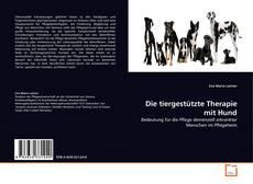 Die tiergestützte Therapie mit Hund的封面