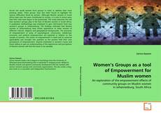 Buchcover von Women's Groups as a tool of Empowerment for Muslim women
