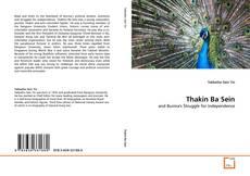 Capa do livro de Thakin Ba Sein