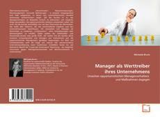 Buchcover von Manager als Werttreiber ihres Unternehmens